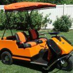 Harley Davidson Golf Carts Are Still A Popular Golf Novelty Item